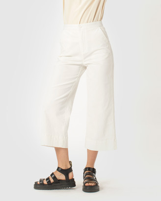 Cools Club - Women's White Chinos - Cools Relax Pants - Size One Size, 6 at The Iconic