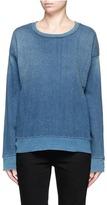 Current/Elliott 'The Ivy League' cotton denim sweatshirt