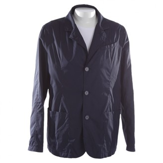 Strenesse Blue Leather Jacket for Women