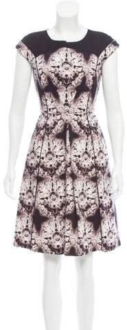 Mantu Printed Knee-Length Dress