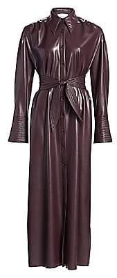 Nanushka Women's Rosana Vegan Leather Dress