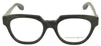 Alexander McQueen 49MM Square Optical Core Glasses