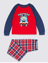 Marks and Spencer Pure Cotton Thomas & FriendsTM Pyjamas (1-6 Years)