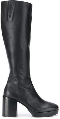 A.F.Vandevorst block heel boots