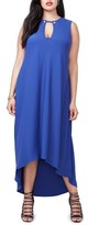 Rachel Roy Plus Size Women's Elliptical Hem Shift Dress