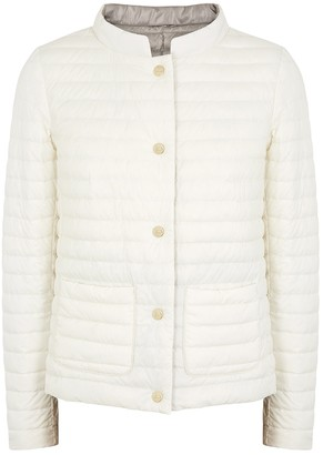 Herno Reversible quilted shell jacket