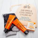 British and Bespoke Personalised Cycling Socks And Mens Toiletries Gift Set