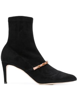 Chloé Gosselin Madeline bamboo cuff boots