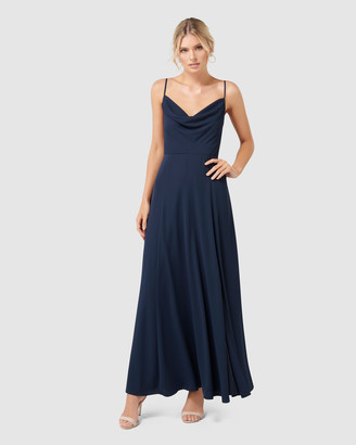 Forever New Crista Cowl Neck Maxi Dress