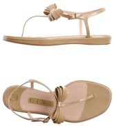 Gina Toe post sandal