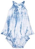 Ralph Lauren Girls' Tie Dye Bubble Bodysuit - Baby