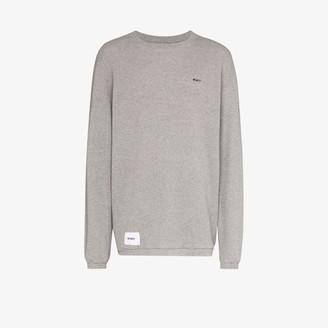 Wtaps waffle knit cotton T-shirt
