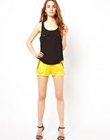 LnA Silk Zip Short