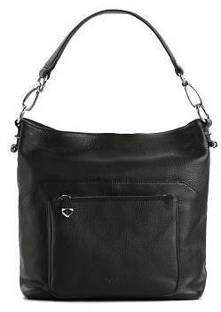 Perlina Marla Leather Bucket Hobo