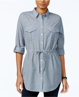 Tommy Hilfiger Utility Tunic Shirt, Only at Macy's