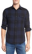 Nordstrom Trim Fit Buffalo Plaid Flannel Shirt Jacket