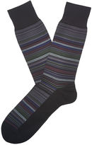 Perry Ellis Multi Color Stripe Portfolio Sock