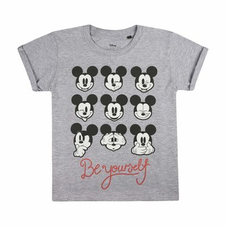 Disney Girl's Be Yourself T-Shirt
