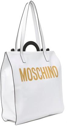 Moschino Multicolor Grommet Leather Crossbody