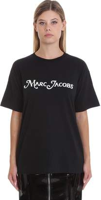 Marc Jacobs T-shirt In Black Cotton