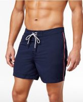 Michael Kors Men's Side Stripe Board Shorts