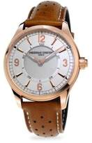 Frederique Constant Smart Stainless Steel & Leather Strap Watch