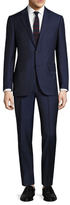 Ermenegildo Zegna Wool Notch Lapel Pin Striped Suit