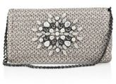 Eric Javits Devi Embellished Convertible Clutch