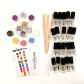 """Make Your Own GLITTER"" Nail Polish Kit"