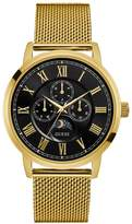 GUESS Gold-Tone Multifunction Style Watch