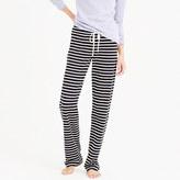 J.Crew Petite dreamy cotton pant in stripe