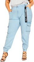Thumbnail for your product : City Chic Relaxed Cargo Jeans