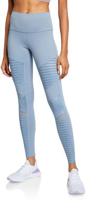 Alo Yoga Moto High-Waist Sport Leggings