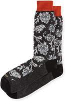 Etro Short Paisley Socks
