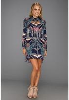 Mara Hoffman Cutout Shirt Dress (Caravan Midnight) - Apparel