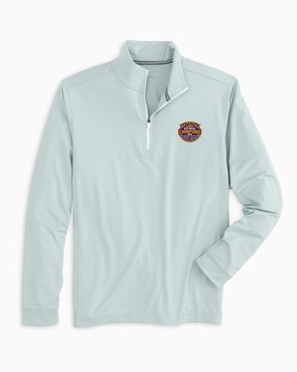 Southern Tide LSU Tigers National Champions Quarter Zip Pullover