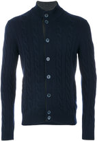 Barba knitted cardigan - men - Cashmere - 52