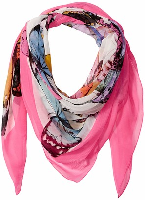 Collection XIIX Women's Butterflies Square Scarf
