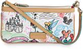 Disney Sketch Wristlet by Dooney & Bourke