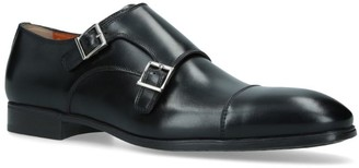 Santoni Simon Double Monk Shoes