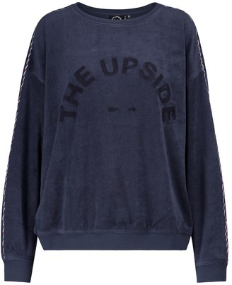 The Upside Alena cotton terry sweatshirt
