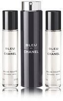 Chanel BLEU DE Eau de Toilette Refillable Travel Spray (3 x 20ml)