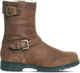 Office Lam Lam nubuck-leather biker boots
