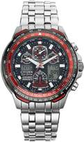 Citizen Eco-Drive Red Arrows Skyhawk A.T. Titanium Radio-Controlled Multi-Function Bracelet Mens Watch