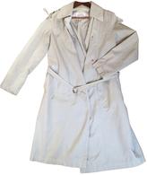 Maison Margiela Green Cotton Trench coat