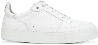 Ami Paris Low Top Trainers With High Sole