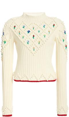 Philosophy di Lorenzo Serafini Embroidered Wool Sweater