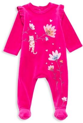 Catimini Baby Girl's Ruffle Footed Pajamas