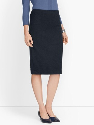 Talbots Knit Tweed Pencil Skirt