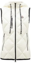Moncler Quilted Soft-shell Gilet - Womens - White